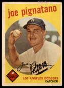 1959 Topps #16 Joe Pignatano G/VG Good/Very Good