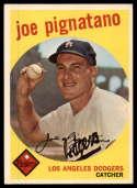 1959 Topps #16 Joe Pignatano EX/NM