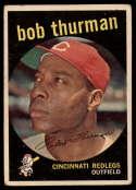 1959 Topps #541 Bob Thurman UER VG Very Good