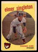 1959 Topps #548 Elmer Singleton VG Very Good
