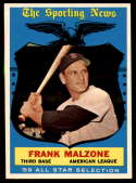 1959 Topps #558 Frank Malzone AS NM Near Mint