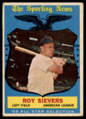 1959 Topps #566 Roy Sievers AS VG Very Good