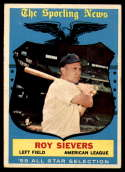 1959 Topps #566 Roy Sievers AS EX Excellent