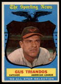 1959 Topps #568 Gus Triandos AS VG/EX Very Good/Excellent