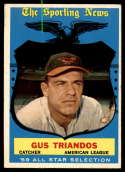 1959 Topps #568 Gus Triandos AS EX Excellent