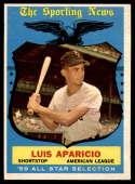 1959 Topps #560 Luis Aparicio AS EX++ Excellent++