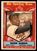 1959 Topps #561 Hank Aaron AS VG Very Good