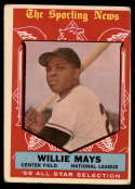1959 Topps #563 Willie Mays AS VG Very Good