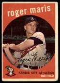 1959 Topps #202 Roger Maris G Good