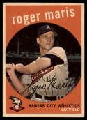1959 Topps #202 Roger Maris VG Very Good