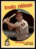 1959 Topps #439 Brooks Robinson VG/EX Very Good/Excellent