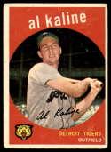 1959 Topps #360 Al Kaline mark