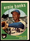 1959 Topps #350 Ernie Banks VG Very Good