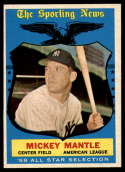 1959 Topps #564 Mickey Mantle AS EX/NM