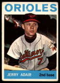 1964 Topps #22 Jerry Adair G/VG Good/Very Good