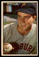 1953 Bowman Color #16 Bob Friend VG/EX Very Good/Excellent