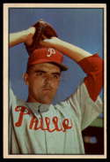 1953 Bowman Color #64 Curt Simmons EX/NM