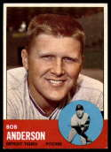 1963 Topps #379 Bob Anderson EX++ Excellent++