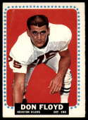 1964 Topps #73 Don Floyd VG Very Good SP