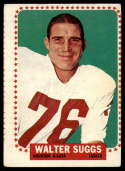 1964 Topps #84 Walt Suggs VG Very Good SP