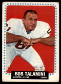1964 Topps #85 Bob Talamini VG Very Good SP