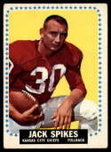 1964 Topps #106 Jack Spikes VG Very Good SP