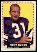 1964 Topps #149 Clancy Osborne VG/EX Very Good/Excellent SP