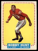 1964 Topps #101 Bobby Hunt VG/EX Very Good/Excellent RC Rookie