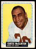 1964 Topps #103 Curtis McClinton mark