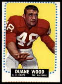 1964 Topps #109 Duane Wood VG Very Good SP