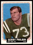 1964 Topps #123 Gerry Philbin EX Excellent RC Rookie