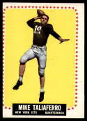 1964 Topps #126 Mike Taliaferro VG Very Good