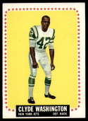 1964 Topps #129 Clyde Washington EX Excellent