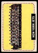 1964 Topps #131 Jets Team VG Very Good