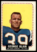 1964 Topps #156 George Blair VG Very Good