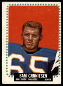 1964 Topps #158 Sam Gruneisen VG/EX Very Good/Excellent