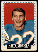 1964 Topps #164 Keith Lincoln VG Very Good