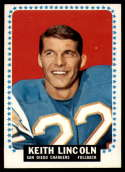 1964 Topps #164 Keith Lincoln NM Near Mint