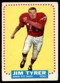 1964 Topps #108 Jim Tyrer VG Very Good RC Rookie