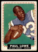 1964 Topps #165 Paul Lowe VG Very Good SP
