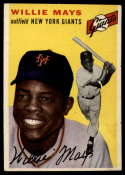 1954 Topps #90 Willie Mays EX Excellent