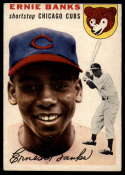 1954 Topps #94 Ernie Banks VG Very Good RC Rookie