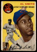 1954 Topps #248 Al Smith VG Very Good RC Rookie