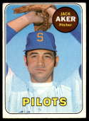 1969 Topps #612 Jack Aker VG/EX Very Good/Excellent