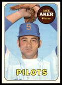 1969 Topps #612 Jack Aker EX Excellent