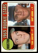 1969 Topps #614 Tom Griffin/Skip Guinn Astros Rookies EX Excellent RC Rookie