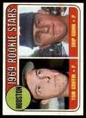 1969 Topps #614 Tom Griffin/Skip Guinn Astros Rookies EX/NM RC Rookie