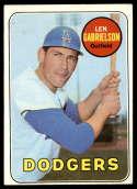 1969 Topps #615 Len Gabrielson EX Excellent