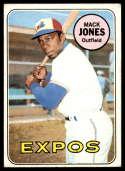 1969 Topps #625 Mack Jones UER VG/EX Very Good/Excellent