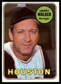 1969 Topps #633 Harry Walker MG EX/NM